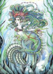 Mermaid - Sirena by FanasY