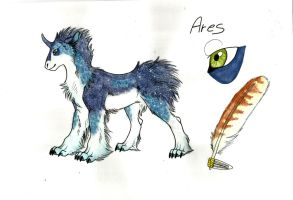 Ares-Stellar Dog by BiaKela