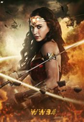 Wonder Woman 84 Fanmade Poster by NazmussShakib3
