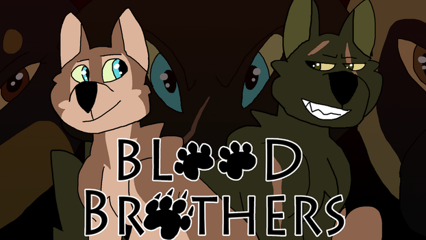 Blood Brothers Poster by NeonWolfArtist
