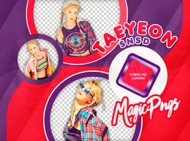 PACK PNG 738 | TAEYEON by MAGIC-PNGS