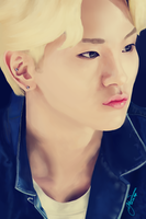 SHINee Key (digital painting) by HATE-love-4EVER