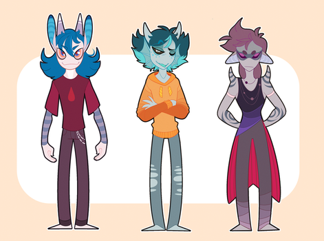 Monster Adoptables OPEN! (Flatsale) by SmokyJack
