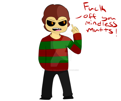 Angry Pocket Sized Freddy FO13thES by Ninjagofan0666