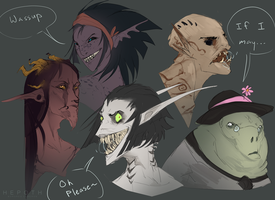 Some Peeps by Hepoth