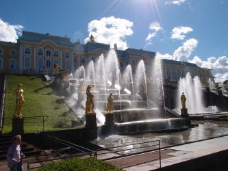 Peterhof by Printsev