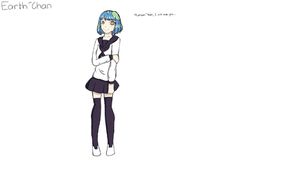 Save Earth Chan by HousecatDaHousecat