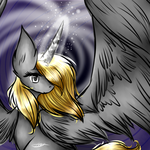 Silver Starlight (Commission) by CosmoticLink