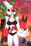 Zangoose She Is Ready To Bikini Summer!!! by teamlpsandacnl