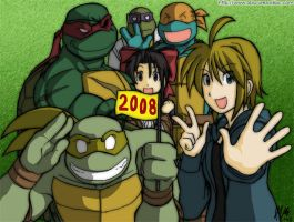 MNT Gaiden: New year 2008 by Tigerfog