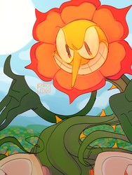 Cagney Carnation by PepperPixel