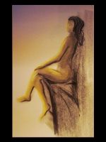 Life drawing 013 by MystiqueX