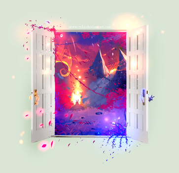 Magic Door by ryky