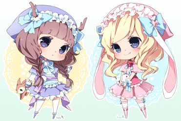 Chibi commission batch03 by inma