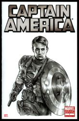 CAPTAIN AMERICA Sketch Cover 2 by S-von-P