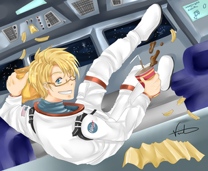 APH - Zero Gravity by vinnie-cha