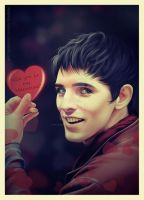 MERLIN Valentines Day by Katarina-Venom