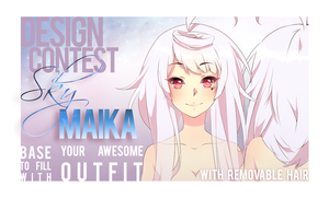 BASE FOR SKY MAIKA CONTEST! by Noririn-Hayashi