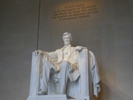 Abraham Lincoln Statue by rlkitterman