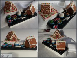 Mini Gingerbread House Prep Board by Kyle-Lefort