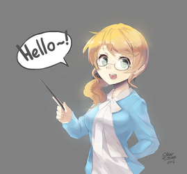 Ellen Baker (Megane Version) by ClearEchoes