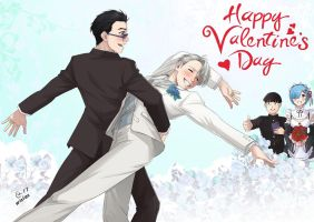 YoI comics -  Valentine Day by Autumn-Sacura