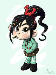 Pocky Chewer by EarthGwee