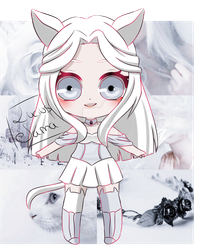 Aesthetic Adopt White (Closed) by LuciusSama