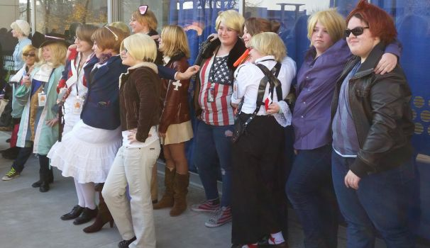 second day at Sac-Hetalia meetup-FrUs 2 by ArthurJones93