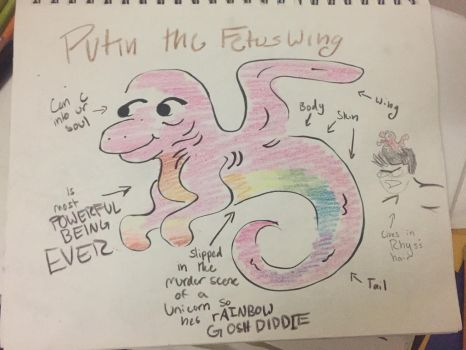 My fetUS wiNG OC: pUTIN by TheMagicalFailWhale