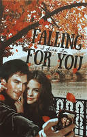 Falling For You // Book Cover by moonxriver