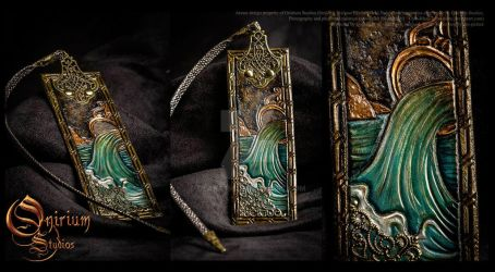Bookmark - Aquarius Zodiac by Deakath