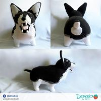 Zwei plush by DemodexPlush