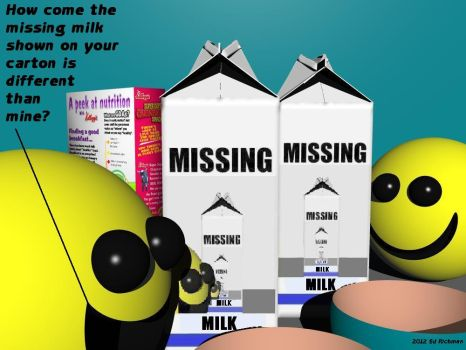 Milk Missing - Text by Ack42