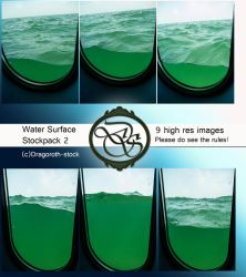Water Surface - Stockpack 2 by Dragoroth-stock