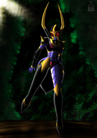 Blackarachnia by Nika-Kate