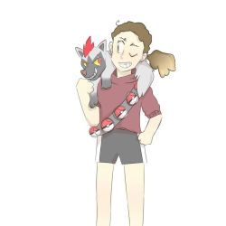 Me as a Pokemon Trainer by kariing200