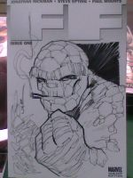 Fantastic Four sketch cover by ukosmith