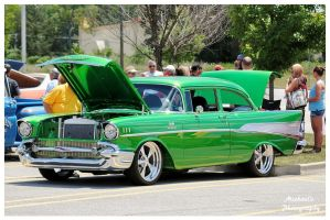 Grass Green 57' Chevy by TheMan268