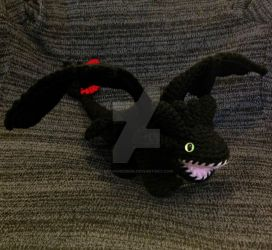 Toothless Amigurumi Crochet by Dragon620026