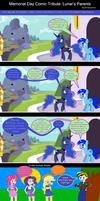 Memorial Day Comic Tribute: Lunar's Parents by EmoshyVinyl