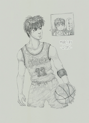 :: Slam Dunk sketches Series 3 :: by maritery-san