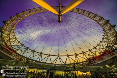 Southbank London Eye 2013.06.03 by TMProjection