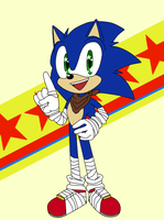 Quick Boom!Sonic by Metal-Harbor