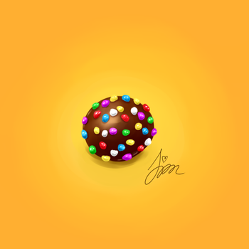 Candy Crush digital painting by iamszissz