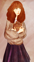 Hermione by Ezelie