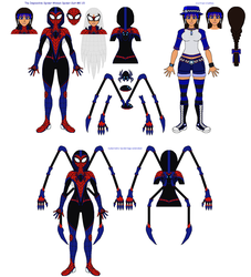 The Impossible Spider-Woman~MK-1.5 Spidersuit +Bio by AJ-Prime