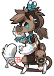 025 - African Wild Dog by TheKingdomOfGriffia