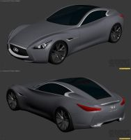 Infiniti Essence Concept WIP2 by The-IC