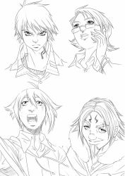 New faces Gharacters Magi by alanscampos